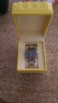 Gold Invicta Watch BRENTWOOD