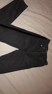 ZARA skinny JEANS WITH SUEDE DETAILS Vaughan, L6A
