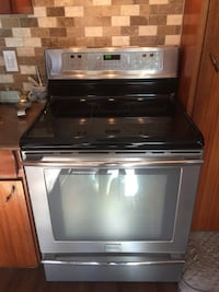 black and gray induction range oven Toronto, M1H 2R7