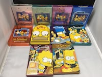 The Simpsons DVDs seasons 1-10 York, 17404