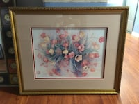 Watercolor painting #watercolor #framedart #painting Los Angeles, 90005