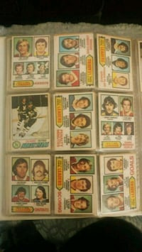 assorted-color trading card lot 546 km