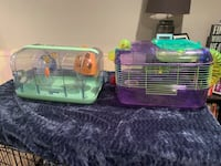2 Hamster Cages w/ Accesories Denver, 80211
