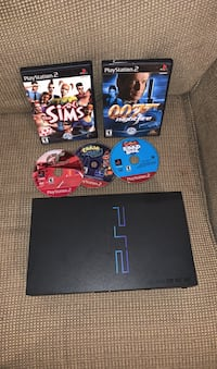 PlayStation 2 with 5 games Leesburg, 20175