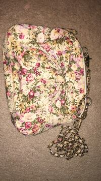 white, pink, and green floral backpack London, N6E 2S7