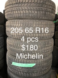 Winter tires 205 65 R16 Toronto, M1V 5G4