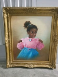 Baby Girl Canvas Painting  Laurel, 20707