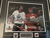 Oilers autographed pic St Albert, T8N 5E4