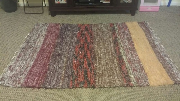 Used Egyptian Handmade Shag Rug For Sale In Greensboro Letgo