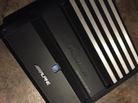 Alpine monoblock amp. 150$ no trades please Peterborough, K9J