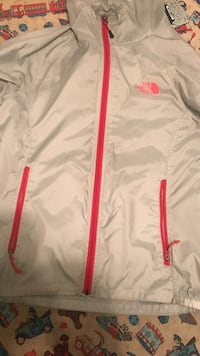 The north face wind breaker