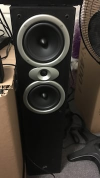 Pair of Precision Acoustic speakers excellent condition