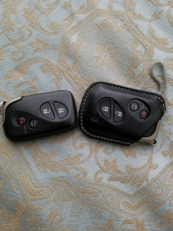 Lexus key fobs for LX, GX, RX, ES, IS 2