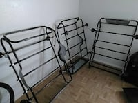 black metal bed frame with white mattress Big Spring, 79720