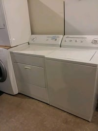 Kenmore washer and dryer set excellent condition 4months warranty  Halethorpe, 21227