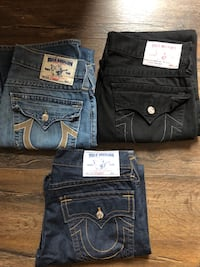 True Religion 3 Pairs (Almost Brand New)
