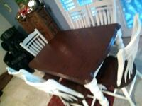 brown wooden dining table with chairs Henderson, 89011