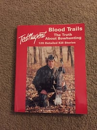 Ted Nugent Autographed Book