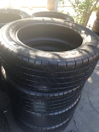 Set 275/55/20 Goodyear Eagle LS-2 used ON SALE $200 including installation and balancing  Whittier, 90605