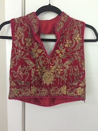 Red and pink sleeveless lehnga Surrey, V3X 1B8