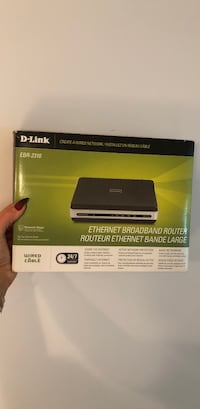 Brand new in box D-Link Ethernet router Toronto, M4Y 1T5