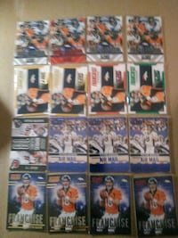 Peyton Manning 16 inserts score red/green/blue$100 Confluence, 15424