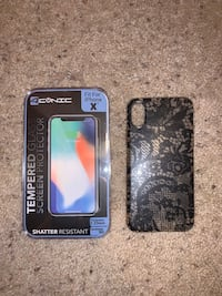IPhone X Case and Screen Protector Columbus, 43229