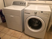 White front-load washer and dryer set Elkridge, 21075