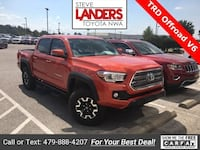 2017 Toyota Tacoma TRD Offroad Rogers, 72758