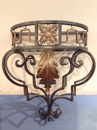 Wrought iron decorative for the wall