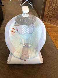 Baby's white and gray bouncer Otsego, 55362