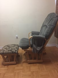 Glider chair With Glider ottoman(Negotiable) Toronto, M9R 1R7
