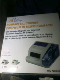 Money Counter!Compact Bill Counter ROYAL SOVEREIGN Vancouver, V5R 1G1
