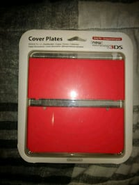 New Nintendo 3DS Red Cover Plates Toronto, M6L 1A4