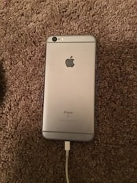silver iPhone 6 with black case Lancaster, 75146