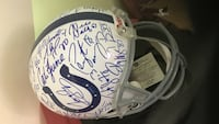 Colts Signed helmet 2006 Towson, 21286
