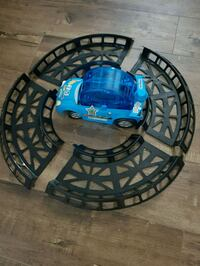 Hamster car wheel and 4piece track