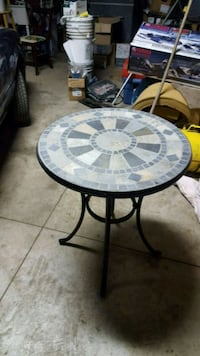 All weather table ( Stone pattern )  Baden, N3A 2M4