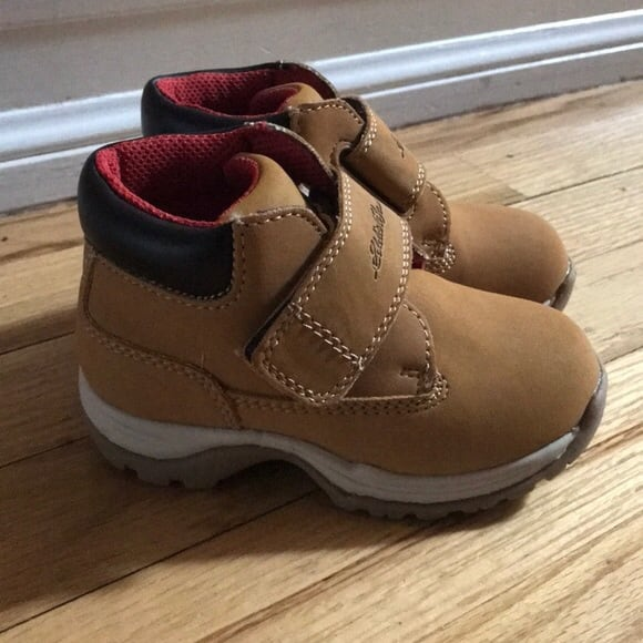 Eddie bauer  size 10 and a size 9 epicstep sneakers with ties.