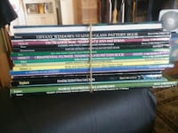 Stained Glass pattern books (20) each Lancaster, 93534