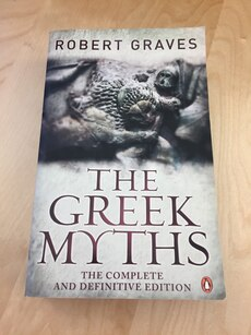 "Boka ""The greek myths"" av Robert Graves"