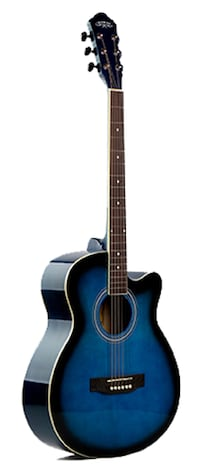 Acoustic guitar for beginners, Students 40 inch blue Brand new Toronto
