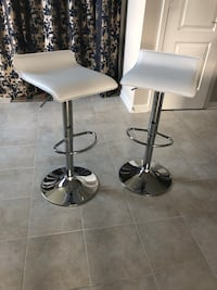 Two white bar stools Owings Mills, 21117