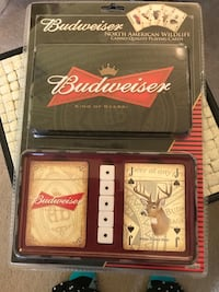 Budweiser casino playing cards package Methuen, 01844