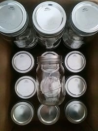16 pint-sized mason jars - like new Alexandria, 22304