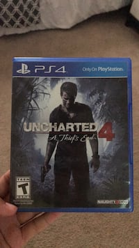 Uncharted 4 ps4 game case Elm City, 27822