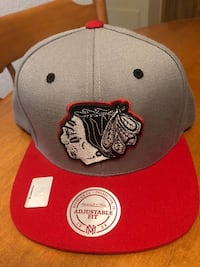gray and red Chicago Bulls fitted cap Edmonton, T5T 3S4