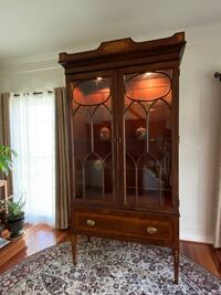 English Antique Curio China cabinet solid wood Silver Spring, 20905