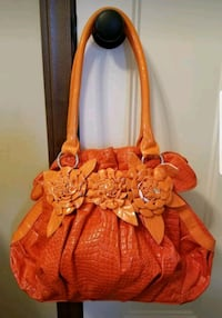 Orange Flower Handbag Andover, 55304