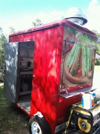 red and black utility trailer Ocala, 34473
